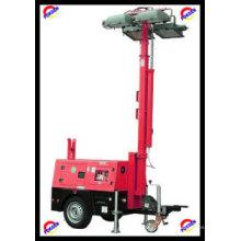 Torre de luz de gerador diesel móvel (POK10LT)
