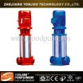 Pompe à tubes verticaux multi-étages, Pompe Jockey à combat d'incendie, Pompe à eau haute pression en acier inoxydable