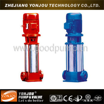 Bomba de tubulação vertical de vários estágios, Bomba de Jockey de combate a incêndio, Bomba de água de alta pressão de aço inoxidável