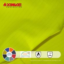 Tissu hydrofuge résistant à l'huile pour vêtements