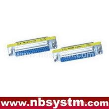 Db44 pin hembra a hembra cambiador de género conector azul