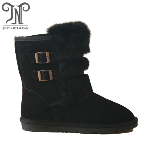 Wholesale Distributors for Womens Suede Winter Boots Women winter fur lining ankle warm snow boots export to Saudi Arabia Exporter