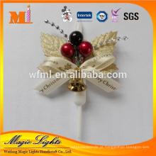 Novo profissional produzir vela de decoração de Natal com fábrica de mercado de massa