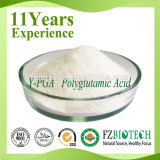 High Efficacy Cosmetic Raw Material Polyglutamic Acid Powder Price, CAS No. 25513-46-6 Gamma PGA