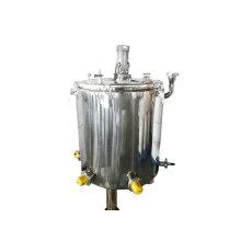 Réservoir de mélange chimique industriel en acier inoxydable