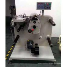 Rebobinadora de cortador de papel, espuma e plástico