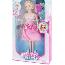 Novo brinquedo de plástico 2016 irmãs de boneca