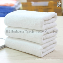 washing towel for hotel/white cotton cloth