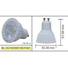 5W GU10 COB Светодиодный прожектор