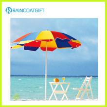 PVC Vinil Tarpaulin Promocional Jardim Parasol Beach Umbrella