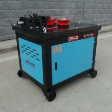 steel round bar curving machine