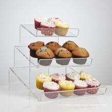 Hot Selling Acrylic Cupcake Display Shelves, Cupcake Display Holders