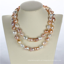 Snh 36inches Long Fashion Pearl Necklace para mulheres