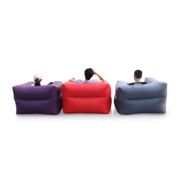 Bedroom Inflatable Sleeping Bean Bag Arm Sofa
