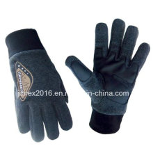 Fleece, Winter Warm Fashion Polar Fleece Outdoor Glove-Jz9b12