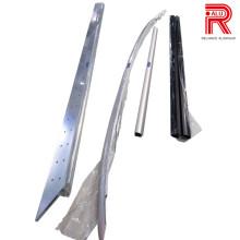 Perfiles de extrusión de aluminio / aluminio para perfiles de bastidor / portador
