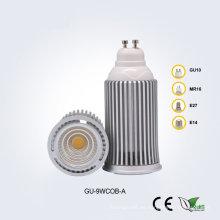 GU10 9W85-265V COB LED Proyector