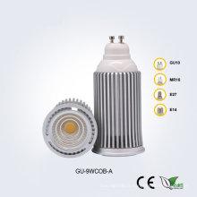 Projecteur LED GU10 9W85-265V COB
