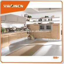 Pünktliche Lieferung Fabrik direkt Shaker Stil Ahorn Küchenschränke