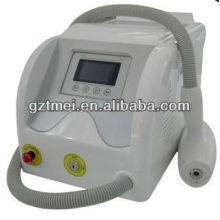 portable 532/1064nm nd yag laser depilation laser machine