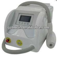 Máquina laser do laser do tatuagem do preço do epilator do laser 1064nm