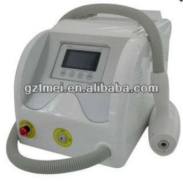 Máquina portable del laser de la depilación del laser del yn del portable 532 / 1064nm