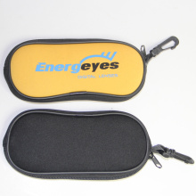 Top Quality for Black Handmade Glasses Case Legerity neoprene zipper eyeglasses cases for sale export to South Korea Importers