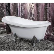 Freistehende klassische Badewanne / Single Slipper Badewannen / Badewanne mit Klauenfüßen