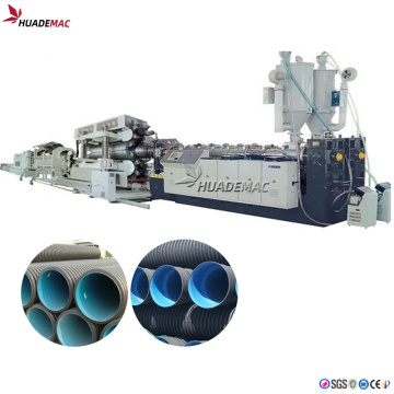 200-600mm Double wall corrugated pipe extrusion line
