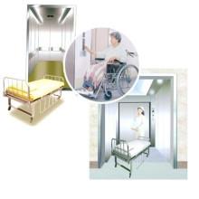 Ascenseur de lit d'hôpital de Srh Grb 1000kg Assenseur