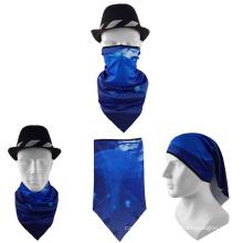 Low price promotion outdoor soft cheap multifunctional unisex sport triangular bandana