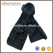100% pure mongolia cashmere plain melange scarf