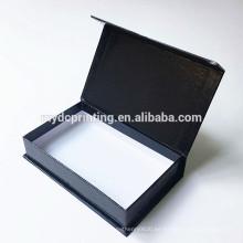 caja de regalo de papel de cartón de embalaje impresa personalizada con cinta magnética