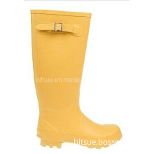 Yellow PVC Rain Boot for Wholesale