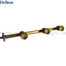 Éclairage à lamelles et vitrines flexibles pour éclairage à lampe à LED (DT-ZBD-001)