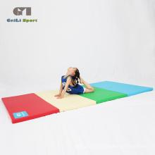 Tapis pliant de gymnastique de haute qualité de gymnastique