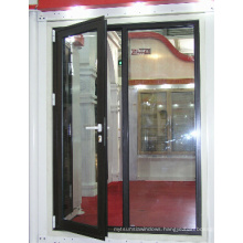 Double Glazing Aluminium out-Swing Casement Door