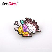 Calidad metal 3D anime boy scout bar clip parpadeante blazer bolsillo bolso insignias pin