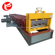 Steel roofing plate metal floor deck roll forming machine