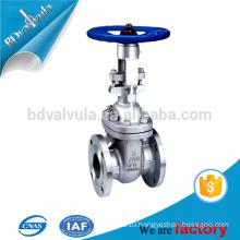 "4"" inch API 6D gate valve SS316 Stainless steel gate valve"