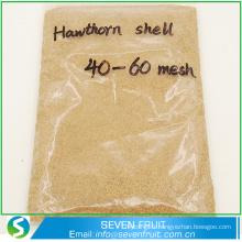 Matériaux de porosité exfoliant granulés de noix / matériaux de polissage