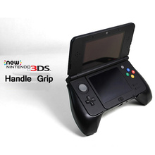 Game Controller Case Plastic Material Hand Grip Handle Stand for Nintendo New 3DS Joypad Stand Case Black