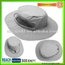 Sombrero plegable al aire libre del cubo de la protección ULTRAVIOLETA BH1262