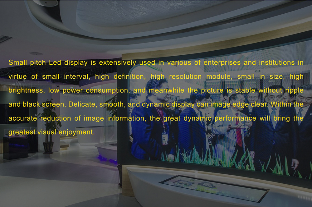 Indoor Fixed led display-priva P3.9