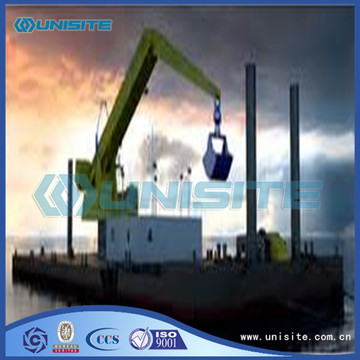 Marine bucket wheel dredge