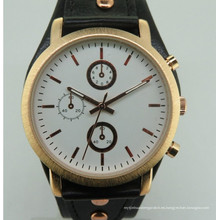 Movimiento del reloj del diseño del hombre del regalo de la moda del nuevo estilo para la venta