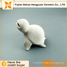 Paintabe Turtle Shape Money Bank pour cadeau de bureau