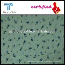 floral impresión dobby estilo jacquard algodón con spandex tienen buen tejido elástico para prendas de vestir