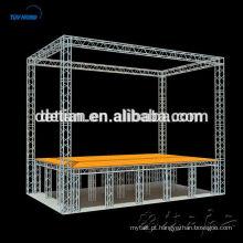sistema de treliça de alumínio de palco para venda, palco de concertos de xangai