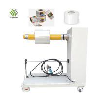 Desenrolador de rolo de etiqueta de carrinho de desenrolamento de motor elétrico